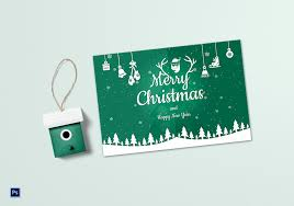 Greeting Card Samples Beautiful Christmas Greeting Card Template