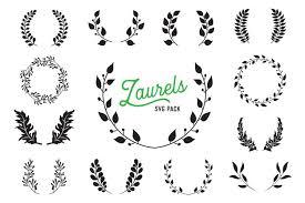 ✓ free for commercial use ✓ high quality images. Laurel Svg Vector Design Bundle Vector Cut Files 271783 Illustrations Design Bundles