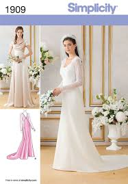 Patterns For Wedding Dresses