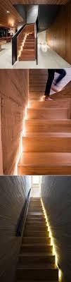 hidden lighting. stair design idea u2013 include hidden lights to guide you at night contemporist more lighting e