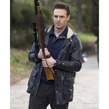 the walking dead ross marquand leather jacket
