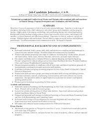 Professional Social Work Resume Best Social Worker Resume Example