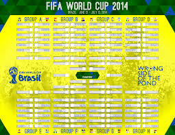 I Put Together This World Cup Wall Chart Feel Free To