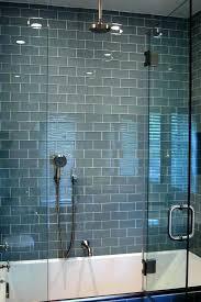 glass subway tile bathroom blue glass subway tile glass subway tile shower blue glass tile bathroom