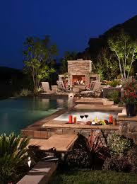 infinity pool backyard. Infinity Edge Pool Ideas-01-1 Kindesign Backyard