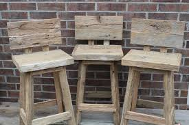 diy rustic bar.  Rustic Rustic Wood Bar Stools Back Throughout Diy O