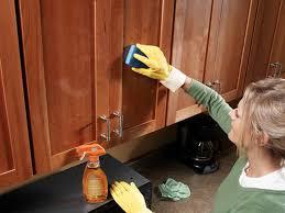 wood kitchen cabinets polish