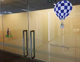 glass safety marking decals sydney