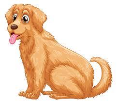 Golden Retriever Puppy Clip art - golden dogs word png download ...