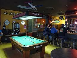 Fine Pool Table Bar In Area M Throughout Simple Design