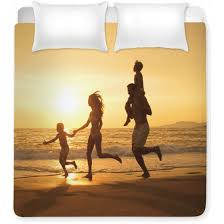 personalized bedding sets custom comforters bed sheets duvets your own photos