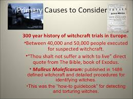 m witchcraft trials  3