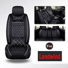 leather auto anti dirty car pad auto products car seat protector set backing best protection dog mat for landwind x7 x5 x9 x6