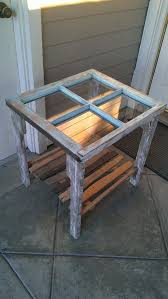 Reclaimed Window Coffee Side Table by dharmadesigned on Etsy, $375.00
