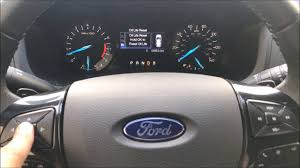 Ford Fusion Oil Light Reset Ford Fusion 2013 2017 Oil Light Reset