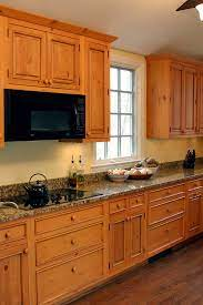 Knotty Pine Cabinets Granite Counter Top Traditional Kitchen Dc Metro By Heritage Building And Renovation Inc Houzz