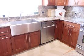 Cherry Shaker Kitchen Cabinets Hong Bo Hardware Supply Cherry Shaker Kitchen Cabinets Bck Cabinets