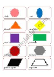 Shapes Chart Images Basic Shapes Chart Esl Worksheet By Csosborne