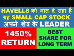 Havells Share Chart Best Smallcap Stock To Beat Havells In Long Term Investment