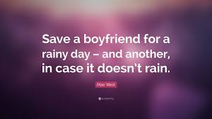 save a boyfriend quote rainy day