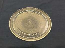 microwave oven replacement glass plate tray platter round 10 5 8