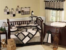 Safari Bedroom Decorations Baby Girl Nursery Jungle Theme Noahs Ark Crib Bedding Set Pale
