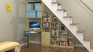 under stairs office. Under The Stair Work From Home Stairs Office B