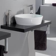 cleo  veneered wenge bathroom sink stand