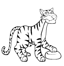 Small Picture Tiger coloring page Tiger free printable coloring pages animals