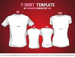 free t shirt template free vector t shirt template