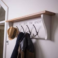 Personalised Coat Rack Gorgeous Coat Rack Peck Chisel Hallway Storage Hallway Furniture