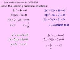 quadratic equation standard form calculator