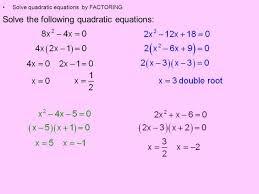 quadratic equation standard form calculator
