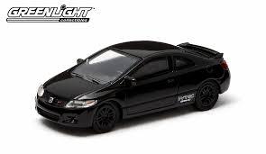 Amazon.com: Greenlight Black Bandit Series 10 Diecast - 2011 Honda ...