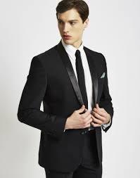 Black Suit Light Grey Tie Black Tie Optional Dress Code Explained Gentlemans Gazette