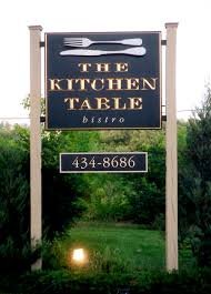 The Kitchen Table Parkside Kitchen Signs By Design Signs