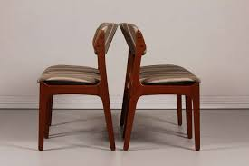 mid century od 49 teak dining chairs by erik buch for oddense ideas scheme teak wood
