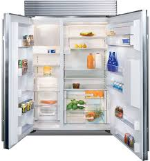 sub zero 48 inch.  Zero DOOR WATER U0026 ICE SubZero BI48SDSTH 48 Inch Builtin Side By  Refrigerator With Sub Zero N