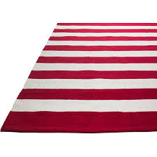fab habitat nantucket striped hand woven red white indoor outdoor in and rug plans 17