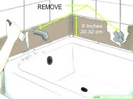 replacement bathtubs for mobile homes corner replace tub faucet mobile home