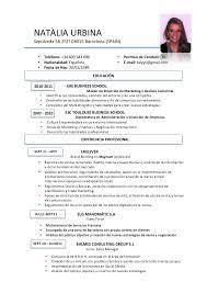 Professional Curriculum Vitae Template Stunning Cv Espanol Template Goalgoodwinmetalsco