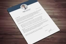 Design Cover Letter Psd Cover Letter