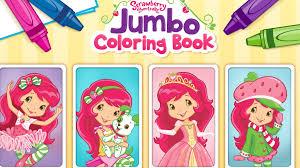 Strawberry Shortcake Jumbo Coloring Book App For Kids Youtube Idolza