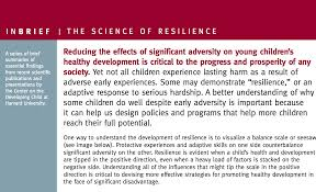 topic resilience inbrief the science of resilience