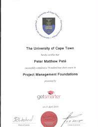 project management course pm pete uct project management course pm pete