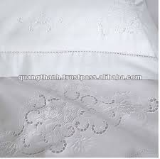 hand made embroidery bed sheet
