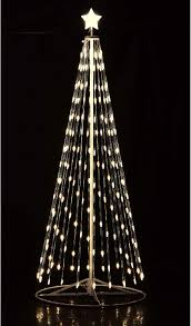 192 16 Ft Outdoor Warm White Led Cone Tree With Wireless Remote 61508
