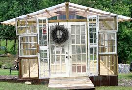 10 greenhouses made from old windows and doors home