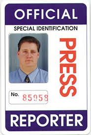 - Indian Id Reporter golfclub Card Press