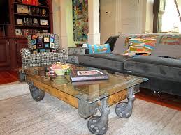 industrial cart coffee table designs uk factory glas